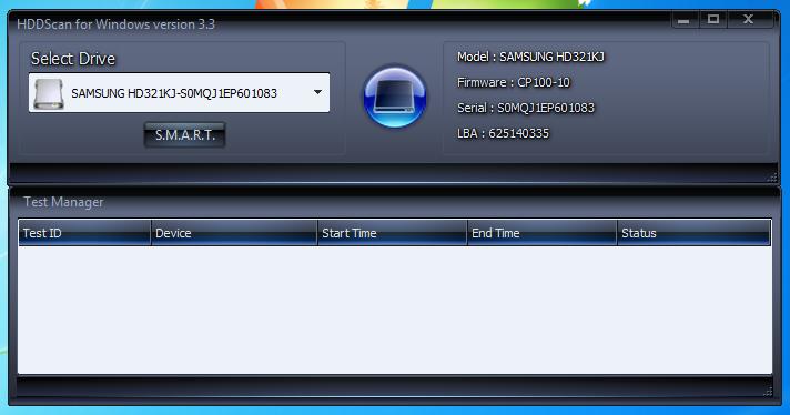 HDD Scan для Windows 7
